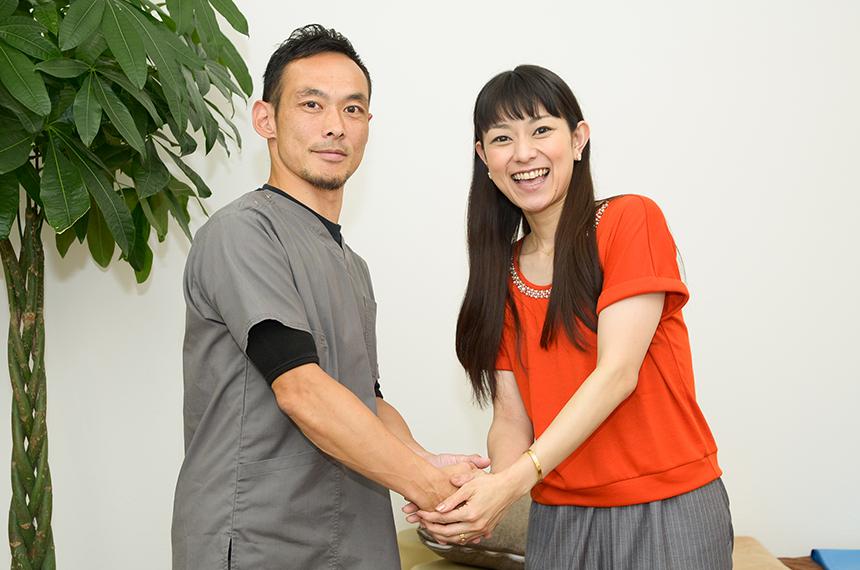 『©仕事を楽しむためのWebマガジンB-plus』の取材で元モーニング娘。の石黒彩さんが来院!